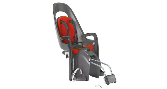 Hamax Caress Kindersitz grau/rot